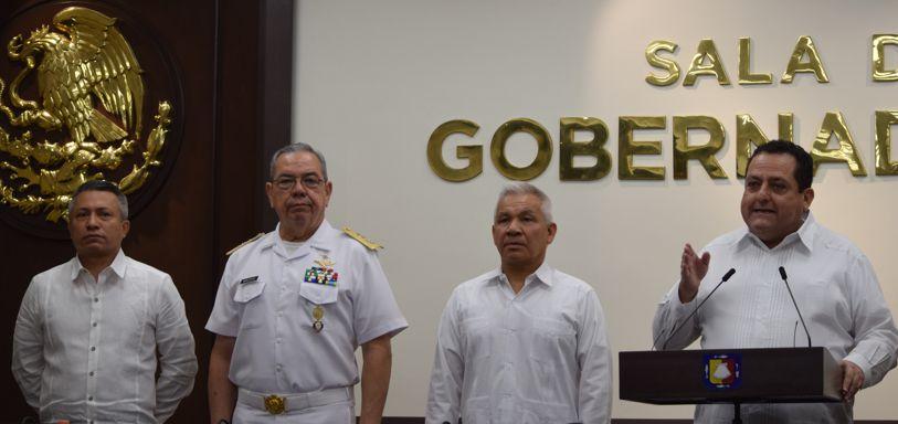 Fuerte inversión en instalaciones militares desarrolla el gobierno estatal, Carlos Mendoza
