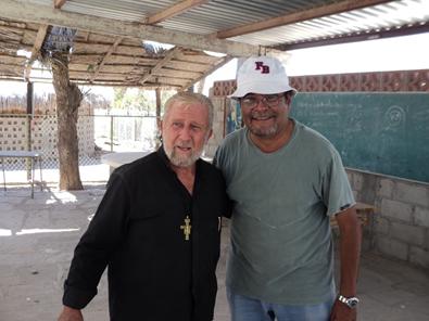 Padre Tonino y Arq. Eugenio Santa Cruz