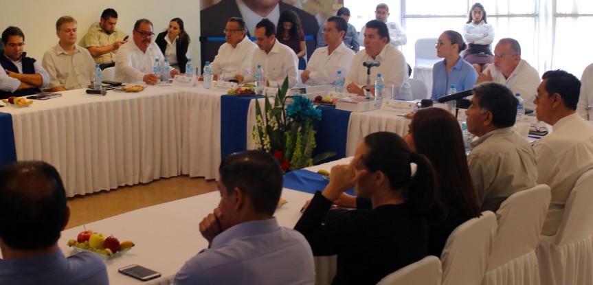 Reunión funcionarios UABCS- Secretaría de Turismo- (1)