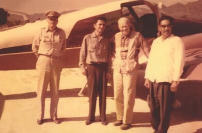 03 El joven Carlos con el Presidente Dwight D. Eisenhower, el delegado César Osuna Peralta
