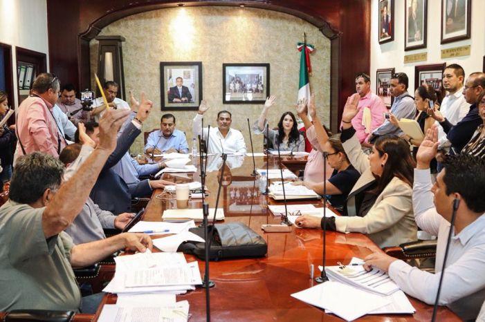05 Sesión del Cabildo de Los Cabos que autoriza al edil Arturo de la Rosa, licencia temporal para buscar su reelección