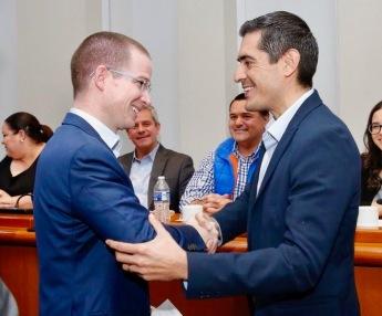 Rigoberto Mares y Ricardo Anaya