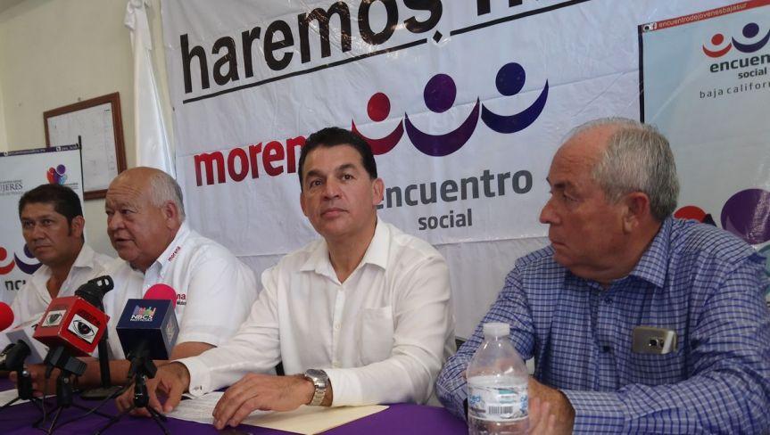 Víctor Castro Cosío, Rubén Muñoz Álvarez y Leonel Cota Montaño