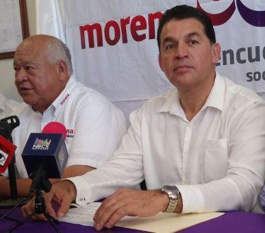 1 Víctor Castro Cosío, Rubén Muñoz Álvarez y Leonel Cota Montaño