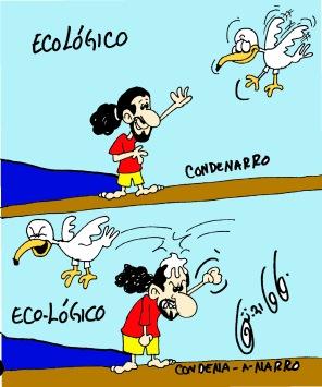 calamidades de un ecologico eco logico