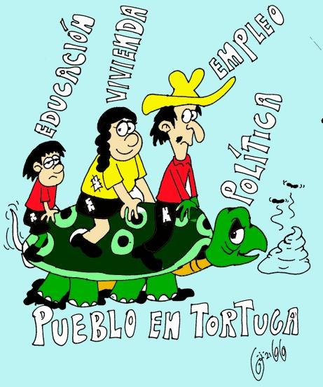 pueblo en tortuga