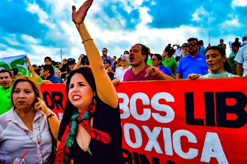01 Armida Castro y regidores electos se suman al pueblo de Los Cabos y dicen No a la Minería Tóxica en BCS (1)