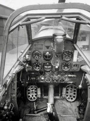 05 cabina de Messerschmitt 109