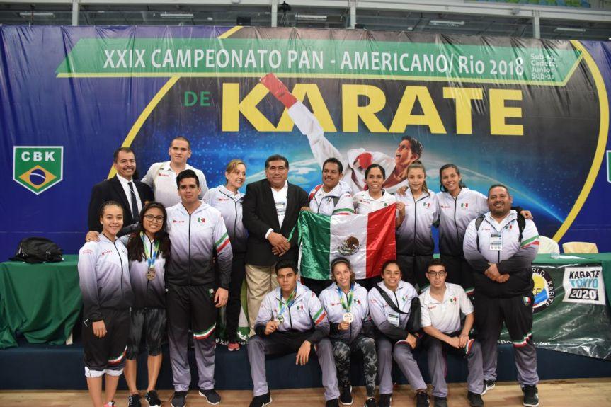 2 México cultivando medallero