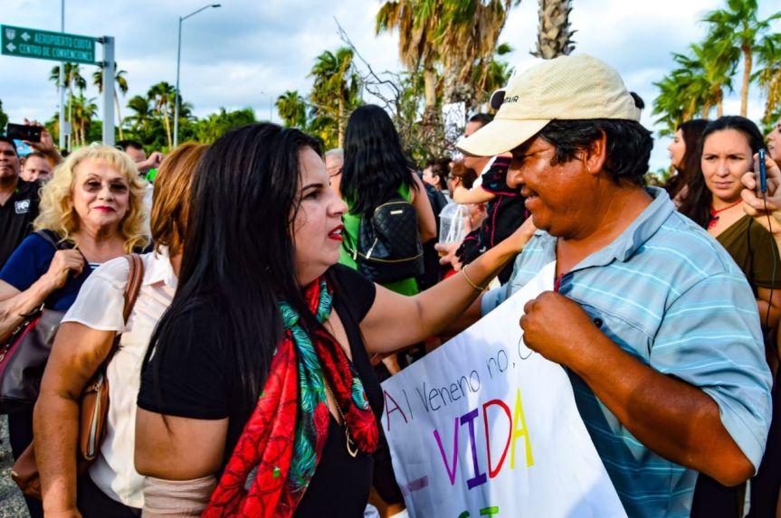 Armida Castro y regidores electos se suman al pueblo de Los Cabos y dicen No a la Minería Tóxica en BCS (4) jpg