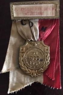 14.- Medalla obtenida en Guatemala y otorgada por la Confederación Deportiva Mexicana 2