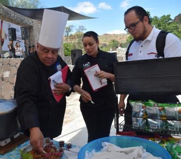 El concurso gastronómico