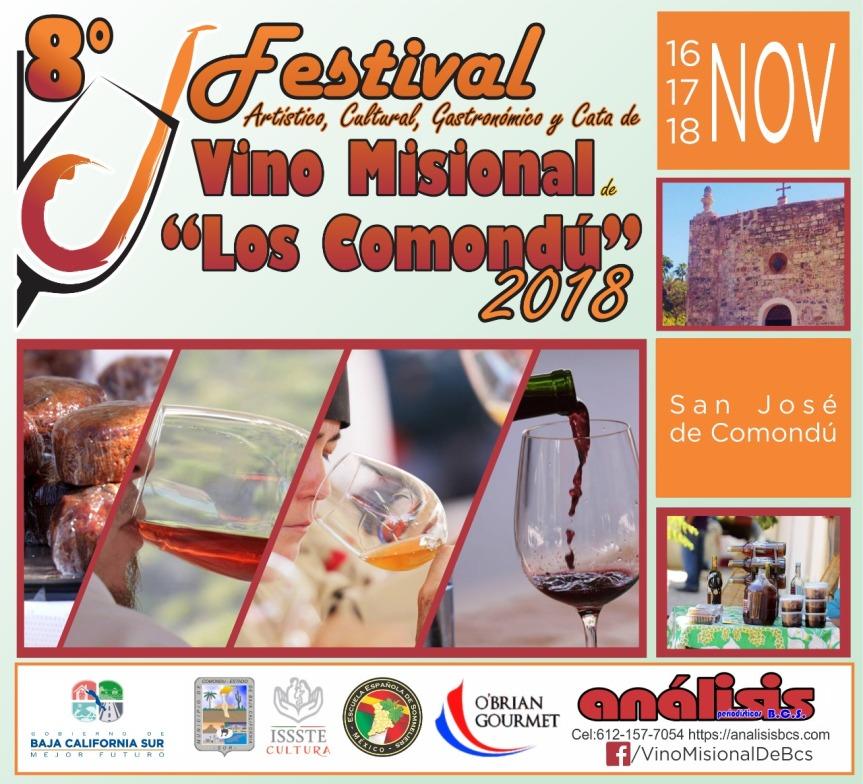 8vo. Festival de Vino Misional 2018