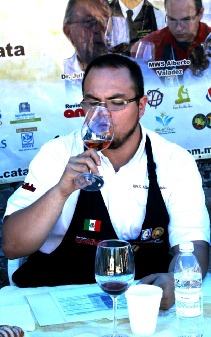 Master Wine Sommelier, Alberto Valadez Rodríguez