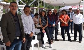 14 Funcionarios Municipoales y el alcalde Walter Valenzuela