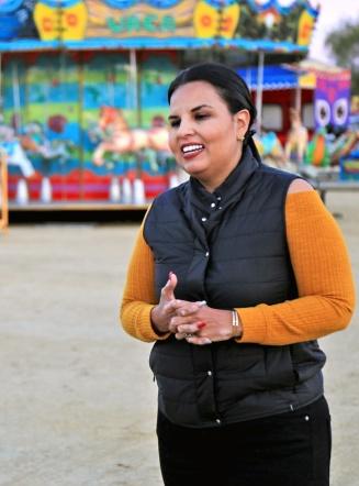 01 Alcaldesa Armida Castro supervisa últimos preparativos de las Fiestas San José 2019 y Exposición Ganadera